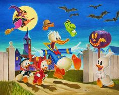 Donald Duck's Halloween Fright  latest (1142×920)