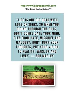 """Placed here by Big Reggae Mix """"The Global Healing Station!™"""""""