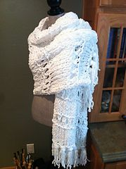 Ravelry: Rocking Chair Wrap pattern by Louis Chicquette