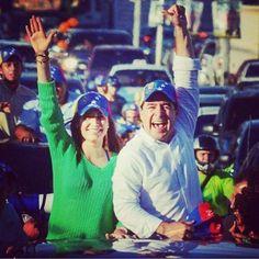 Él a pesar de las amenazas, a pesar de la cárcel, nunca abandonó a su pueblo. #SanCristobal Con @Daniel_Ceballos. #3M pic.twitter.com/s0ySwY3Ow0