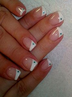 French Tip Mani Designs  #Frenchnails