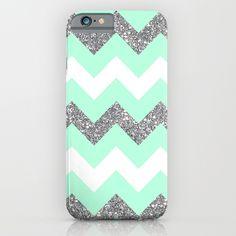 mint, green, blue, sea foam, chevron, glitter, tribal, aztec, pattern