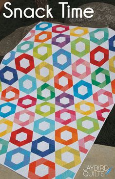I'm Julie of Jaybird Quilts the designer behind the Hex N More and Sidekick Rulers. Today I'm here to tell you a bit more about my rulers. I released the Hex N More last year and just r…