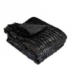 tissu fourrure Croco Noir tissu telaio http://www.tissus-telaio.fr/product.php?id_product=6438