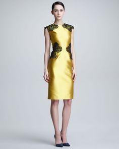 http://ncrni.com/lela-rose-placed-lace-satin-sheath-dress-p-1142.html