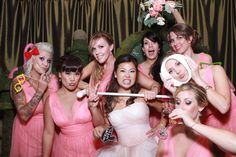 Sandra and Hendrick's Alice in Wonderland Wedding - Giggle and Riot Photo Booth