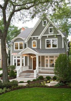 So Pretty No Link In Pin Simple House Exterior Grey Homes