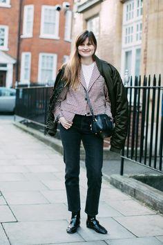 Street style à la Fashion Week automne-hiver 2017-2018 de Londres : Eugénie Trochu