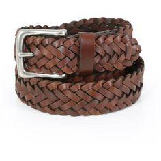 Wrangler Mens Braided Belt