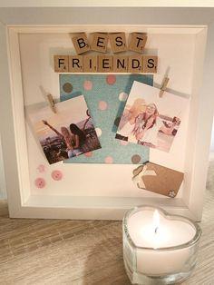 Cute Best Friend Gifts, Diy Best Friend Gifts, Bestie Gifts, Presents For Best Friends, Little Presents, 18th Birthday Gifts For Best Friend, Best Friend Valentines, Creative Birthday Gifts, Cute Birthday Gift
