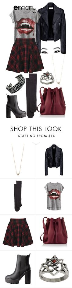 """""""book character#154"""" by marii-arsen ❤ liked on Polyvore featuring Chloe + Isabel, Balenciaga, Wolford, Boohoo, Sophie Hulme, Charlotte Russe and NOVICA"""