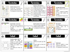 Proposal to work in the form of French and mathematical workshops at roadmap, labels . Math 5, Math Games, Articles Of Association, Teachers Corner, Craft Online, Cycle 3, Teacher Organization, Number Sense, Learn French