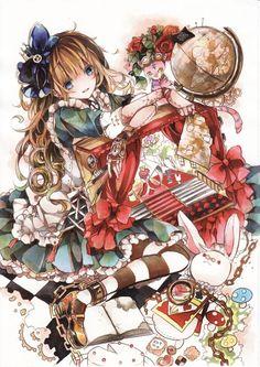 Alice anime illistration 286