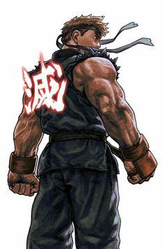 evil ryuu and ryuu (street fighter) drawn by ug (ugg) - Danbooru Ryu Street Fighter, Capcom Street Fighter, Character Design References, Character Art, World Of Warriors, Ju Jitsu, Mileena, Art Anime, King Of Fighters