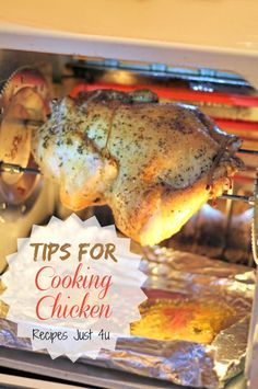 Getting the perfectly cooked chicken can be a bit of a challenge. Follow my tips for cooking chicken to get moist results every time.