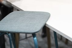 Mikko Halonen's Grip NxT stools are stackable and can be hung from a tabletop without a separate fitting. The Grip NxT stool's compact size and two different heights mean that they easily fit into different types of spaces. Stackable Stools, Laminate Colours, School Chairs, School Furniture, Orange And Turquoise, Seat Cushions, Color Inspiration, Tabletop, Color Schemes