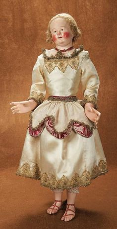 Outstanding Grand-Sized Neopolitan Figure with Highly-Expressive Features