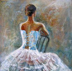 "Saatchi Art Artist Rakhmet Redzhepov; Painting, ""Temptation"" #art"