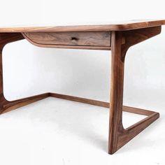 James desk. American Black walnut