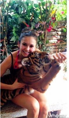 Nina Dobrev in Thailand