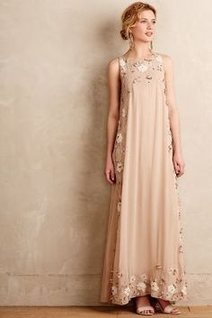 Not So Serious by Pallavi Mohan Nerine Maxi Dress #anthroregistry