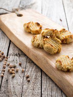 Kokosanki z ciecierzycy wegańskie, bezglutenowe