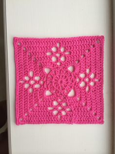 Ravelry: Victorian Lattice Square by Destany Wymore
