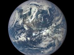 """NASA Captures """"EPIC"""" Earth Image A NASA camera on the Deep Space Climate Observatory satellite has returned its first view of the entire sunlit side of Earth from one million miles away. NASA Image of the Day Earth And Space, Les Satellites, Dramatic Photos, Nasa Photos, Earth Photos, Whole Earth, Flat Earth, Earth 2, Our Solar System"""