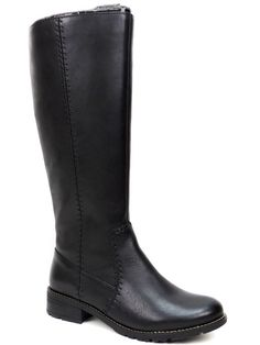 Söfft Women's Adabelle Boots Black Leather Knee High Size 8 M #Sfft #KneeHighBoots #Casual