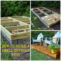 Frugal ain 39 t cheap diy floating deck low cost projects for How to build a cheap floating deck