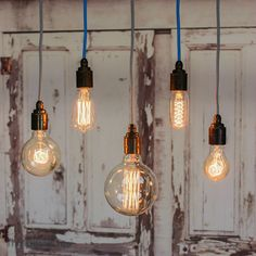 Filament Light Bulb Vintage Style Edison Decorative Industrial Squirrel Cage in Home, Furniture & DIY, Lighting, Light Bulbs   eBay!