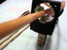 Homemade slingbow (Photo), via YouTube.