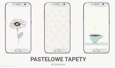Pastelowe tapety na telefon, wallpaper, for download, vector graphics