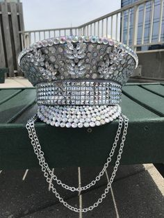 Captain Hat, Burning Man Hat, Festival Hat, Military Hat, Festival Fashion, mens hat, womens hat, Pilot Hat, Custom Burning Man Hat, playa