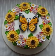Spring Cake  and Cupcake Decorating Ideas _01