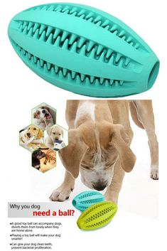 Langxian Dog Toy Ball, Nontoxic Bite Resistant Rubber Dog Tooth Chew Cleaning Interactive Toy IQ Training Ball,Suitable for Small Medium and Large Dogs Dog Cleaning, Teeth Cleaning, Dog Dental Care, Interactive Toys, Dog Teeth, Large Dogs, Doge, Dog Toys, Tooth