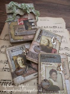 inkypinkycraft: capture a smile - ATC, ACEO Atc Cards, Card Tags, Journal Cards, Junk Journal, Altered Books, Altered Art, Tutorial Scrapbook, Timmy Time, Handmade Tags