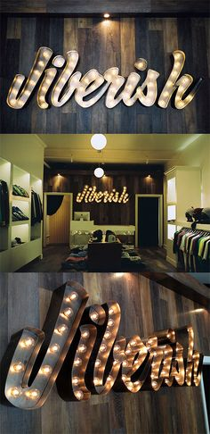 """The concept of signboard design for CC board """"signage"""". JIBERISH The concept of sign design for CC board """"signage"""". Wayfinding Signage, Signage Design, Typography Design, Signage Board, Typography Inspiration, Sign Board Design, Design Letters, Illuminated Signs, Channel Letters"""