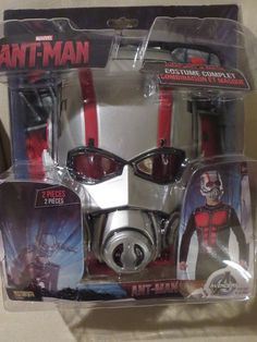 MARVEL COMICS ANT MAN FULL COSTUME JUMPSUIT & MASK BOYS SIZE 8-10 #MARVEL #JUMPSUITMASK
