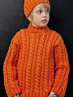 Lapsen palmikkoneule Novita Isoveli | Novita knits