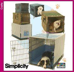 Simplicity pattern #4713 - Dog Crate cover