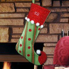 Whimsical Jester Christmas Stocking