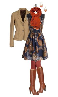 """""""Boho at the Office 1"""" by sallymcgraw ❤ liked on Polyvore"""
