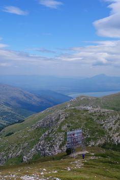 Randonnée au pic Magaro, parc national Galichica, entre le lac d'Ohrid et le lac de Prespa, Macédoine. #Macedonia #hiking #outdoor