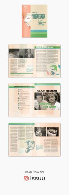 Mostra 1959 - O Ano Mágico do Cinema Francês  Catálogo desenvolvido para acompanhar a Mostra 1959 - O ano mágico do cinema francês.