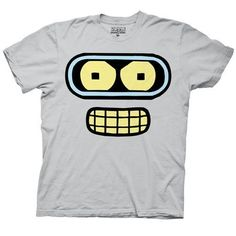 Now you can wear Bender, one of the most beloved characters in animated television history!