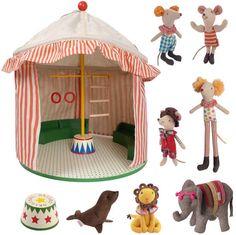 My Sweet Muffin - Maileg Circus Tent & Friends