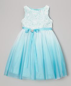 Take a look at this Blue Heart Sash Dress by Dream Kingdom on #zulily today!