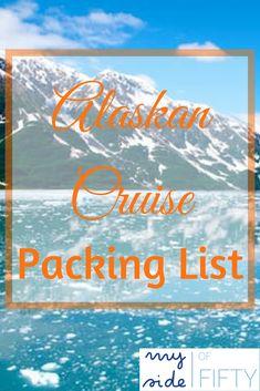 Alaskan Cruise Packing List based on what I took and what I actually wore | #cruise #alaskancruise #alaskancruisepackinglist | What to Pack for an Alaskan Cruise