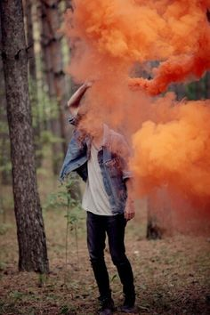 Ideas for band smoke grenade photos